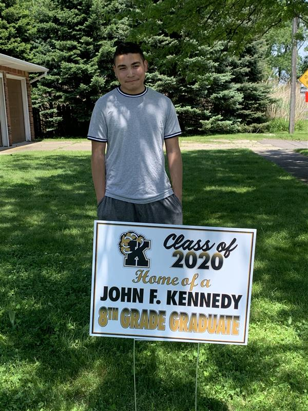 Honor Roll Posted at John F. Kennedy Middle School